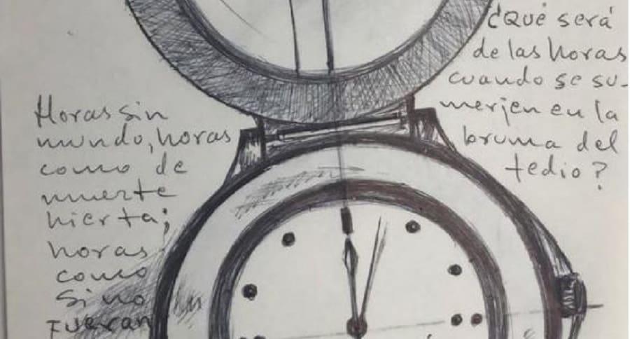 Dibujo de 'Santrich'