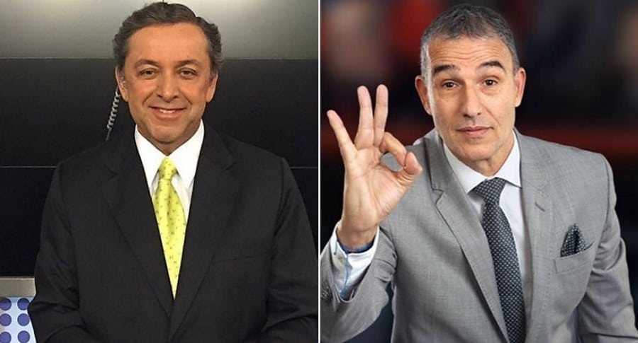 Esteban Jaramillo y Adrián Magnoli