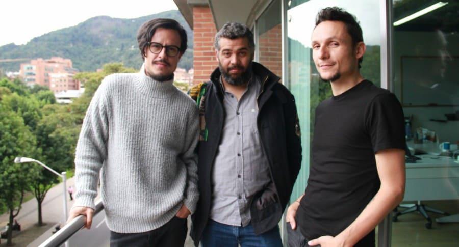 Sergio Acosta, David Jaramillo y Mario Muñoz.