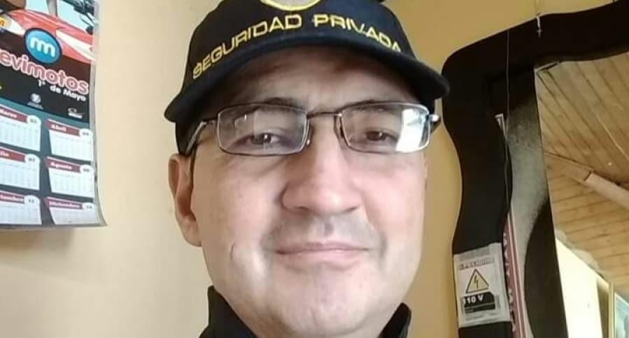 Nelson Vargas Mendoza, víctima faltal de robo en Bogotá