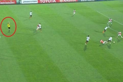 Gol inválido a Flamengo