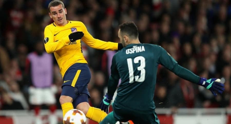 Arsenal 1-1 Atlético de Madrid