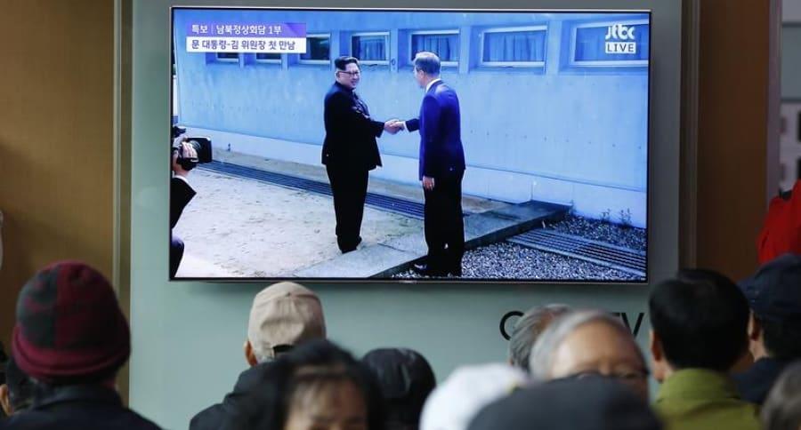 Encuentro entre las dos Coreas