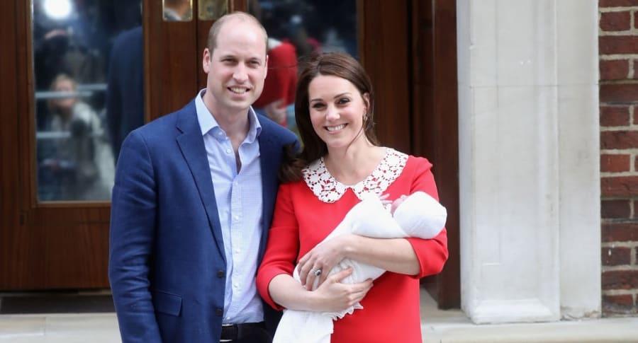 Príncipe William y su esposa Kate