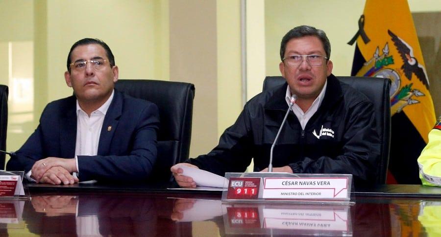 Ministros ecuatorianos