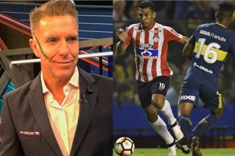 Alejandro Fantino y Junior vs. Boca Juniors