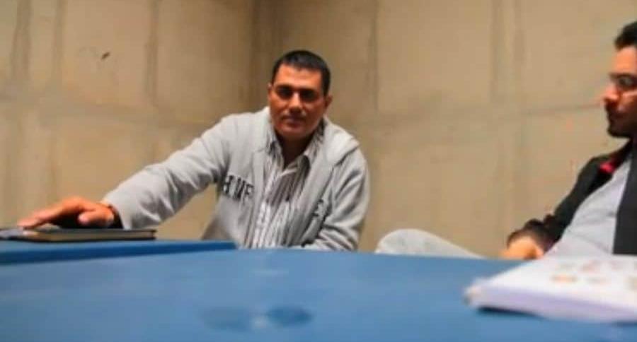Juan Guillermo Monsalve e Iván Cepeda