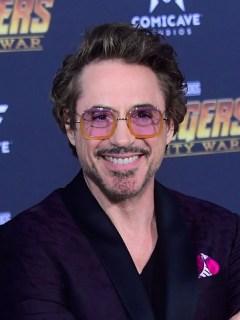 Actor Robert Downey, del elecco de la película