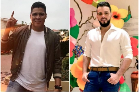 Rafael Pérez y 'El Nene' Carrascal, exintegrantes de Kvrass.