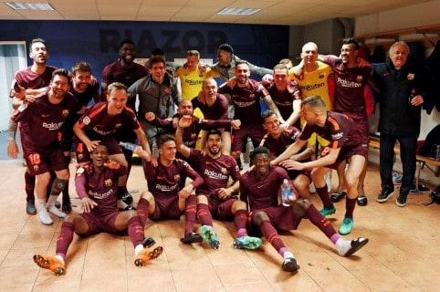 Barcelona celebra