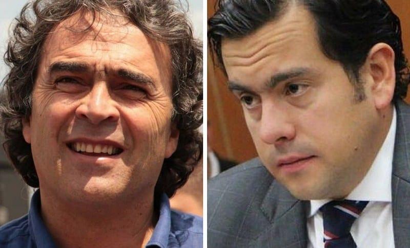 Sergio Fajardo y Rodrigo Lara