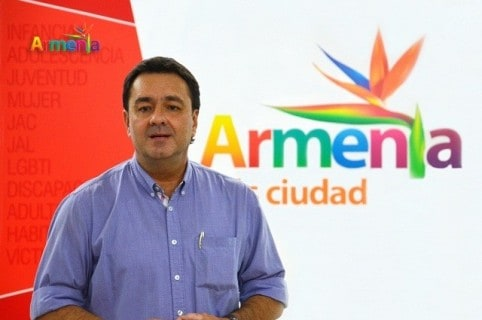 Alcalde de Armenia Carlos Mario Álvarez