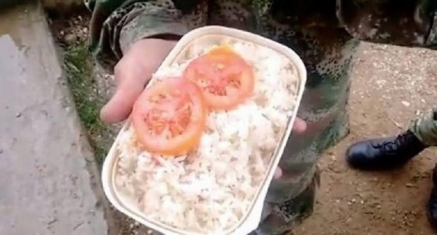 Almuerzo soldados