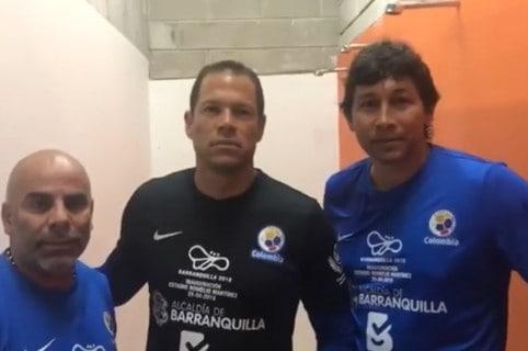 'Chicho' Serna, Óscar Córdoba, Jorge Bermúdez