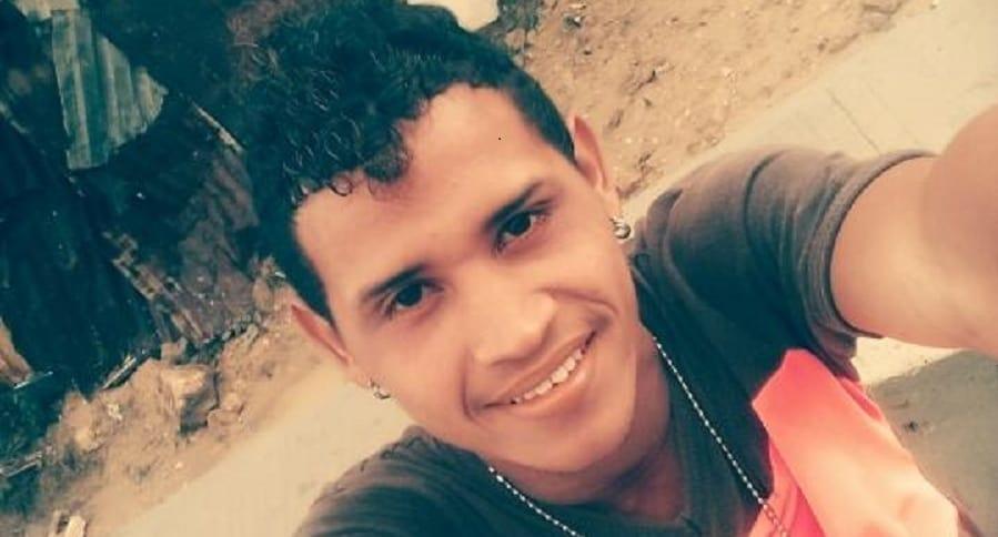 Luis Miguel Sarmiento, víctima fatal