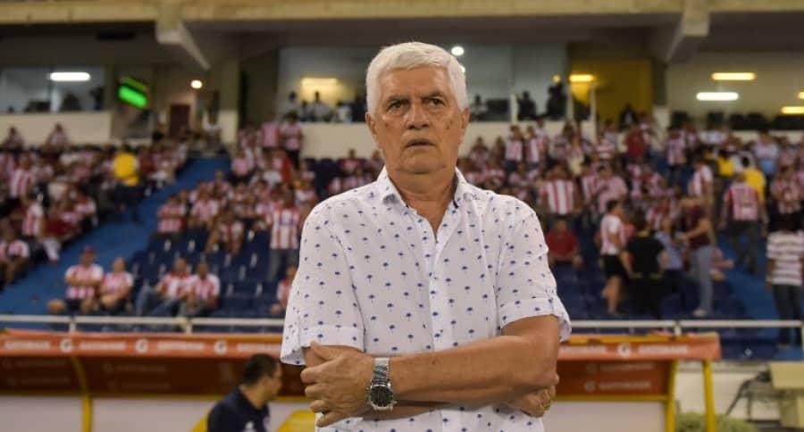 Julio Comesaña, DT de Junior