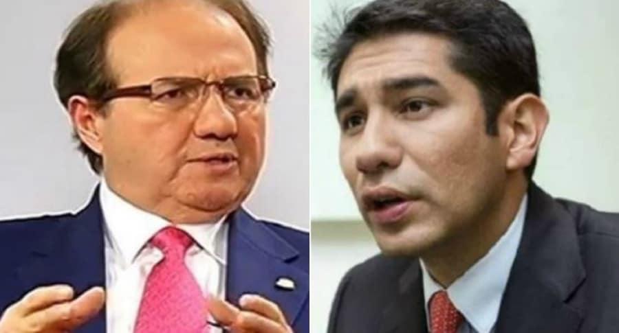 Leonidas Bustos y Luis Gustavo Moreno
