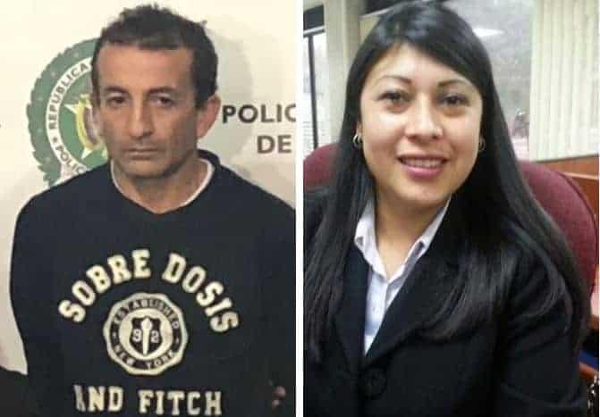 Carlos Alberto Casas acusado de asesinar a su exesposa Yudy Angelica Beltrán Arango