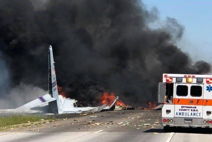 Accidente de avión en Georgia