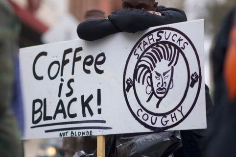 Manifestación contra arresto de jóvenes negros en Filadelfia