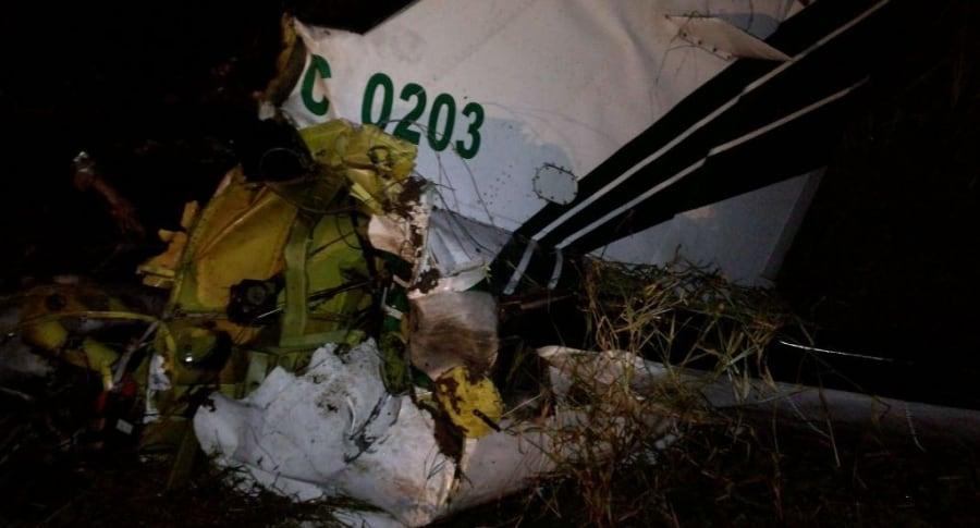 Accidente aéreo en Tolima