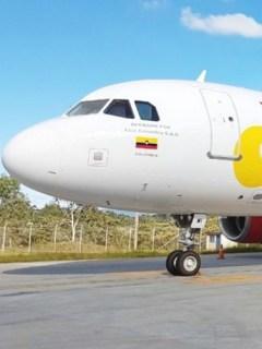 Avión de VivaColombia