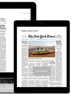 Versiones digitales New York Times