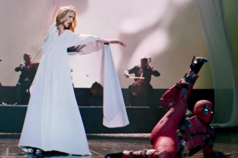 Deadpool y Celine Dion.