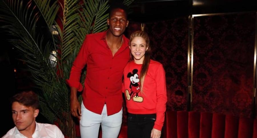 Shakira y Yerry Mina