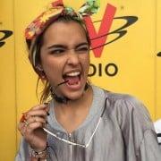 Lucy Vives, modelo.
