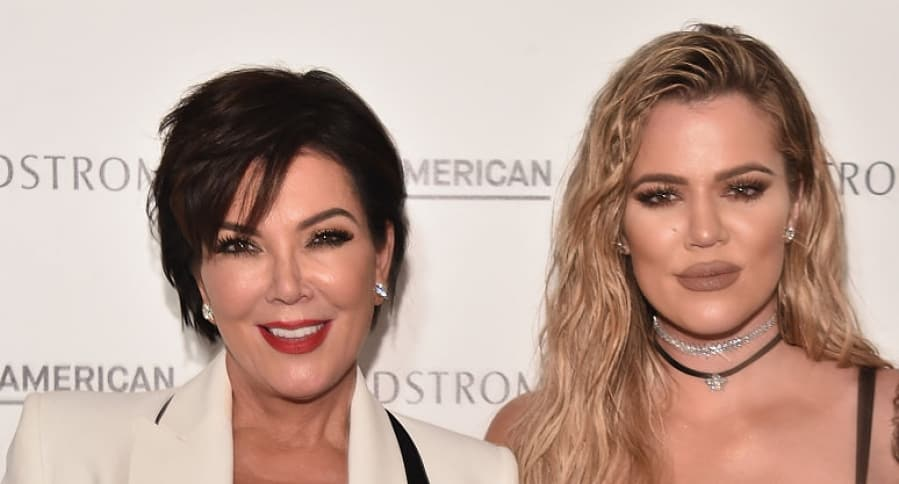 Kris Jenner y Khloé Kardashian
