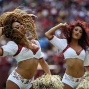 Porristas de los Washington Redskins