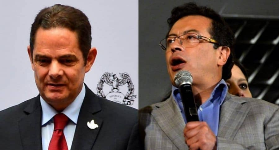 Vargas Lleras y Petro