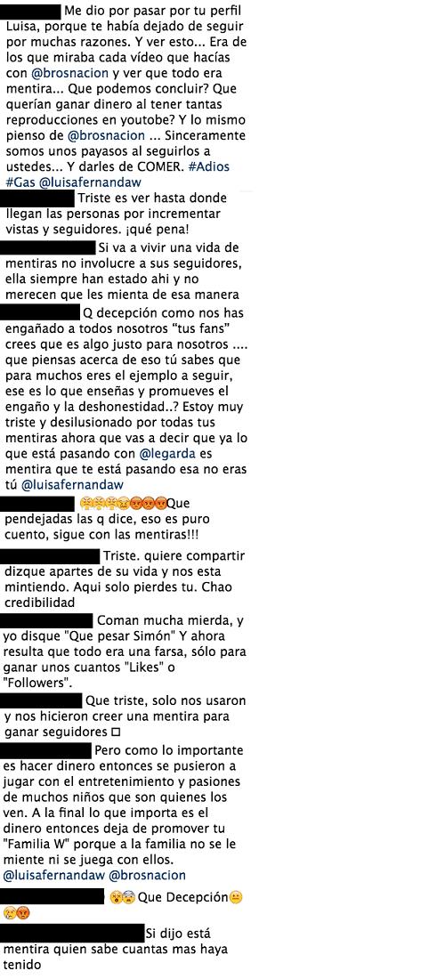 Comentarios Luisa Fernanda W