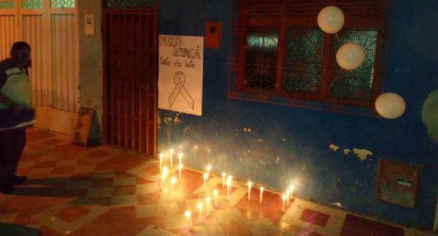 Indignación por asesinato de un menor de 4 años en Puerto Boyacá