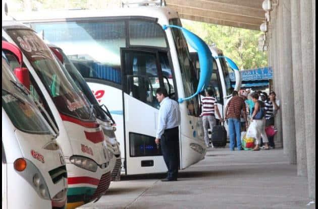 Buses de pasajeros.