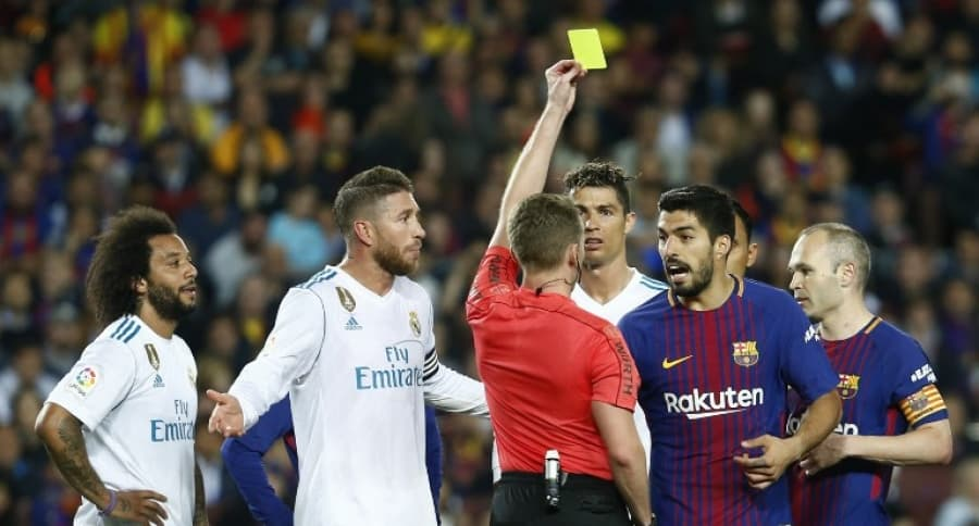 Clásico español. Barcelona vs Real Madrid