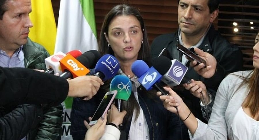 Karen Abudinén, directora del Icbf