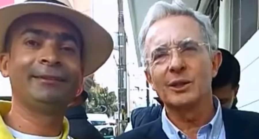 Luis Emilio Arboleda y Álvaro Uribe Vélez
