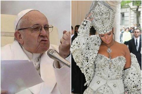 Papa Francisco / Rihanna