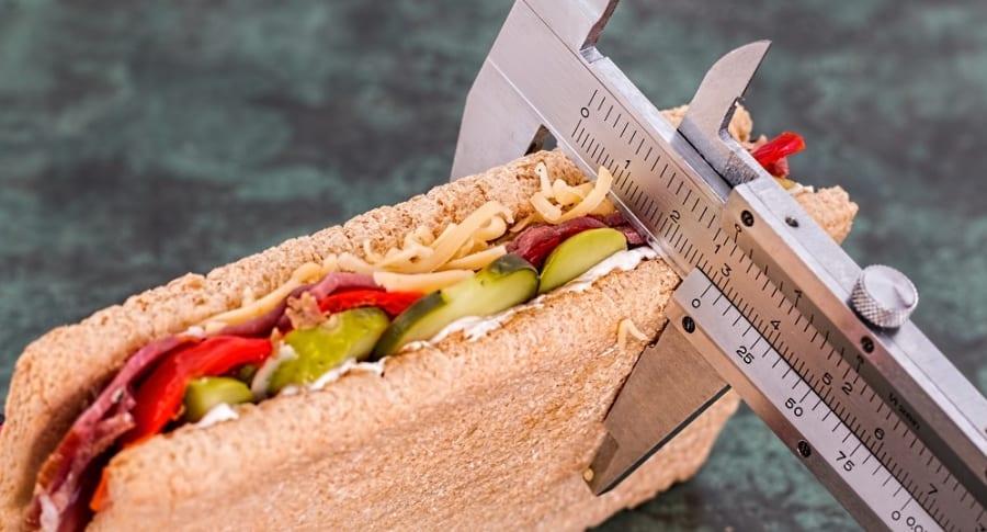 Sandwich calorias