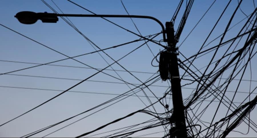 Cables de alta tensión.
