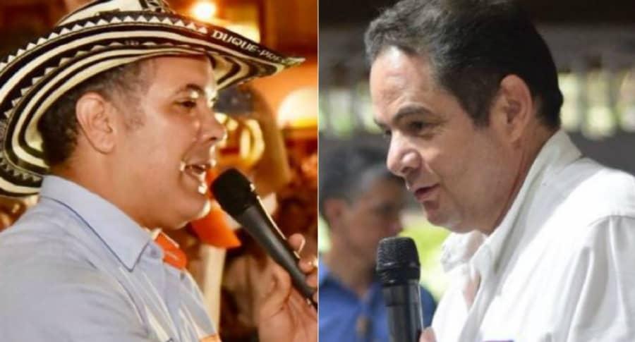 Iván Duque y Germán Vargas Lleras
