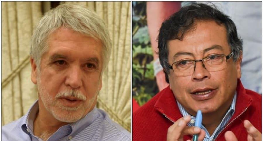 Enrique Peñalosa y Gustavo Petro