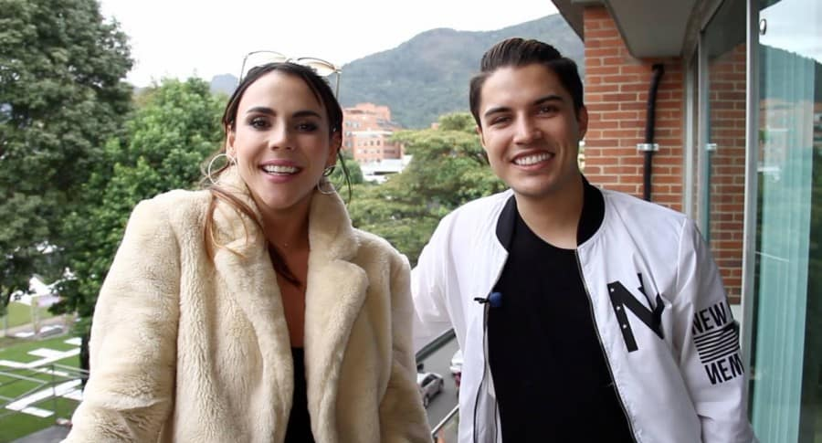 Carolina Gaitán y Dennis Fernando