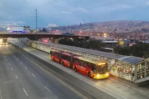 Estación San Mateo (Soacha) de Transmilenio