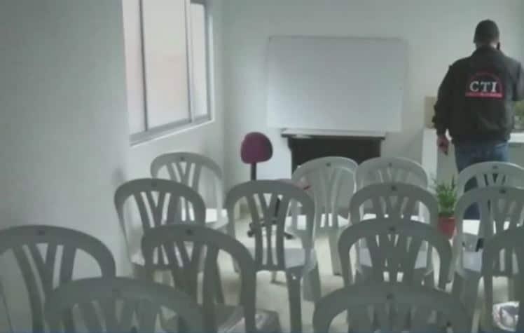 Centro reclutamiento Eln