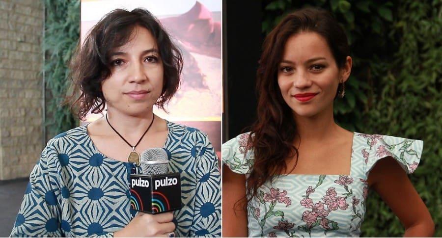 Cristina Gallego, directora, y Natalia Reyes, actriz.