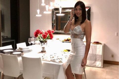 Andreina Fiallo, modelo.