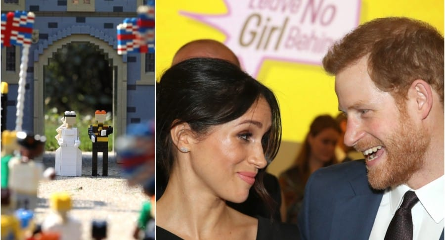 Legos de la boda ral / Meghan Markle y el príncipe Harry